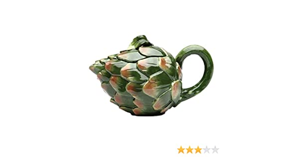 Cosmos 20844 Gifts Chili Pepper Ceramic Teapot 5-Inch