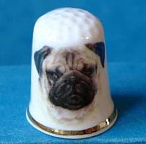 Porcelana China cobrable dedal de perro papillón