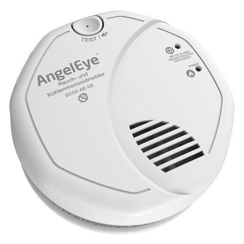 AngelEye- Detector de Humo y monóxido de Carbono a Pilas para Uso en Espacios domésticos, 1 Unidad, Color Blanco, SCO5-AE-DER: Amazon.es: Bricolaje y ...