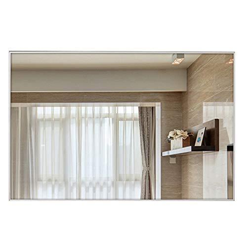bathroom mirror JWZQ 50cm x 70cm Metal Frame | Hanging Mirror | -