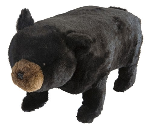 Black Bear Footstool (Carstens Big Ben Bear Footstool with Storage)