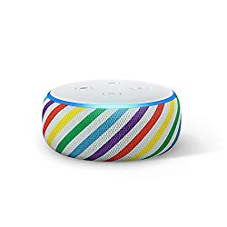 Image of the product Echo Dot Kids Edition an that is listed on the catalogue brand of Amazon. The product has been rated with a 4.7 over 5