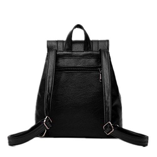 FOLLOWUS - Bolso mochila  para mujer rojo rojo vino