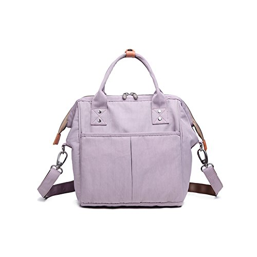HaloVa Mini Diaper Bag, Multi-Function Waterproof Travel Bac