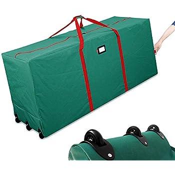 Amazon Com Homeya Christmas Tree Storage Bag Rolling