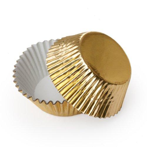 Foil Mini Dress - Dress My Cupcake Mini Gold Foil Cupcake Liners