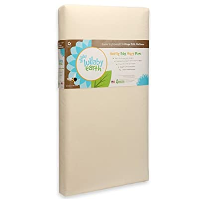 Lullaby Earth Super Lightweight Crib Mattress Review