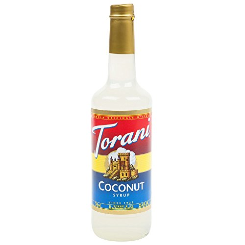 Torani Syrup, Coconut, 25.4-Ounce Bottles (Pack of 3) (Best Italian Restaurants In North Beach)