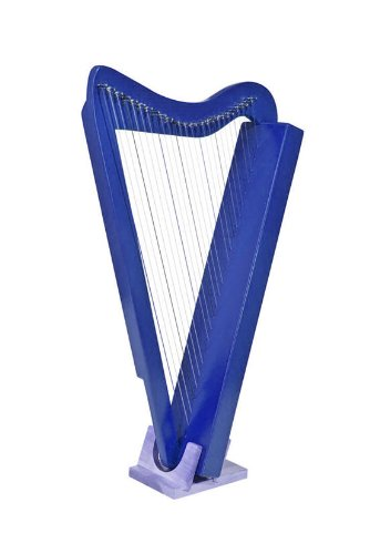 Harpsicle Harp w/ Book & DVD - Blue by Harpsicle Harps