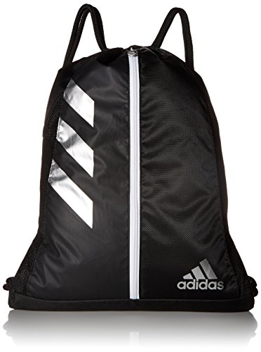 adidas Team Issue Sackpack, Black/Silver, One -