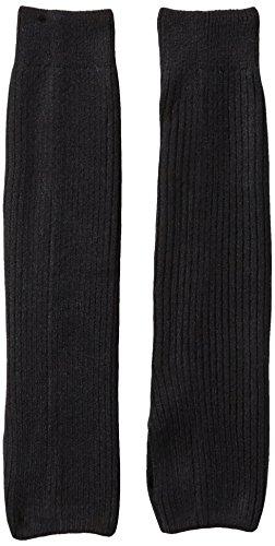 Danskin Girls Legwarmer, Rich Black, One - Knit Warmers Leg Stretch