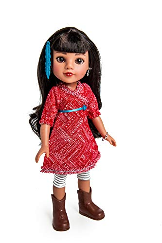 Heart For Hearts Girls Mosi Native American, USA Doll -