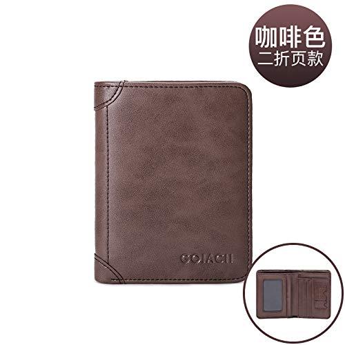 Portefeuille portefeuille Porte Lmshm monnaie Cuir Avec Conduire En Polyvalent De cartes permis Porte Coffee 8F7xwdFq
