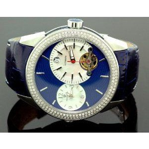 腕時計 アクアマスター Aqua Master Diamond Automatic Black Mens Watch 1.75 ct w-317b【並行輸入品】 B00PFN56DS
