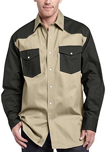 9b9daa0b38 Carhartt Men s Ironwood Twill Work Shirt Snap Front Relaxed Fit S209  (B003OQTZ1C)