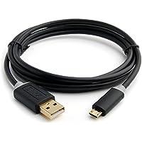 Onyx 5 Ft USB Cable [Gold Plated] for Samsung WB350, WB350F, WB151, WB151F, WB152, WB152F Camera