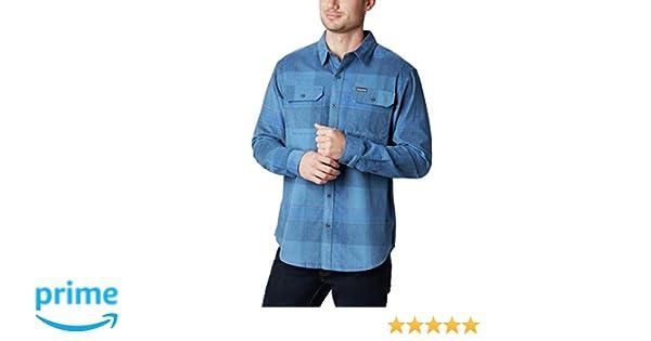 Columbia Flare Gun Corduroy Shirt Polo, Hombre, Scout Blue Large ...