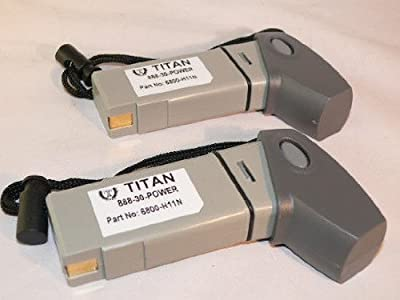 2 PACK REPLACEMENTSYMBOL 21-52228-01 BARCODE SCANNER BATTERY by TITAN®