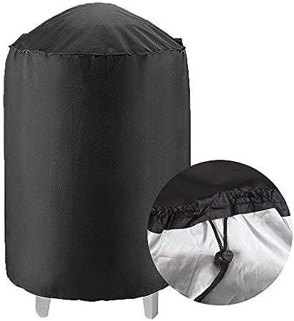 Anti-poussi/ère /étanche ANNIUP Housse de Protection pour Grille de Barbecue Ronde 76,2 cm de diam/ètre x 91,4 cm de Hauteur