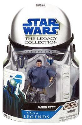 Star Wars Clone Wars Saga Legends Action Figure Jango Fett (style and colors may vary)