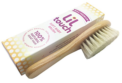 Lil Touch Baby Hair Brush product image
