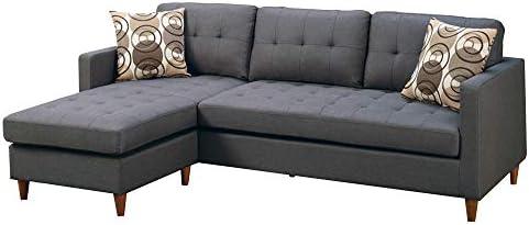 Benjara Polyfiber Sectional Sofa - the best living room sofa for the money
