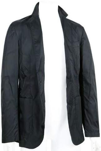 【COMME CA MEN】コムサメン 高密度ナイロンツイルジャケット 黒