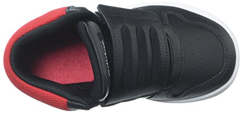 Adidas Neo Baby Vs Hoops Mid 2.0 I, Core Black/White/Scarlet, 8.5 M US Toddler