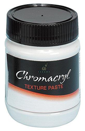 Chroma 402252 Chromacryl Texture Paste, 8 oz. Capacity, White