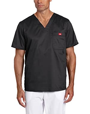 Men's Big & Tall Gen Flex Solid Stitch V-Neck