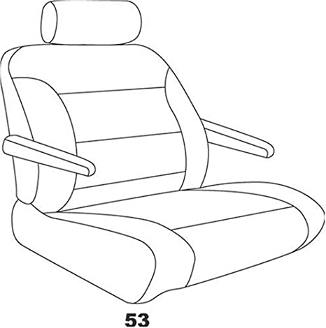 Rear Bucket Seat Covers