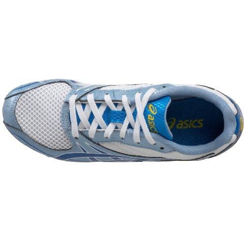 Asics Vrouwen Hyper-rocketgirl 4 Atletiek Shoe White / Saffier / Narcis