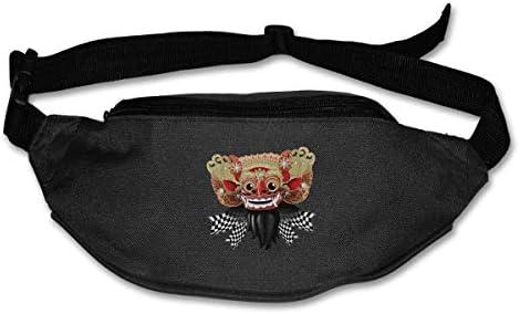 bvncfghjdfgj Opera Lion Runners Fanny Bag Waist Pack Sling Pocket Super Lightweight For Men&Women Black: Amazon.es: Deportes y aire libre
