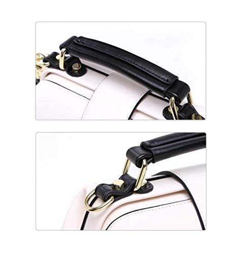 Doctor New Bag Phone Lock Messenger Bag Shoulder Fashion Black Bag Embroidery ZwwECp4qF