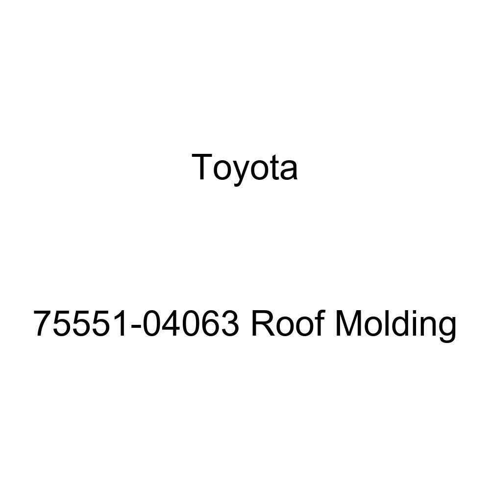 Genuine Toyota 75551-04063 Roof Molding