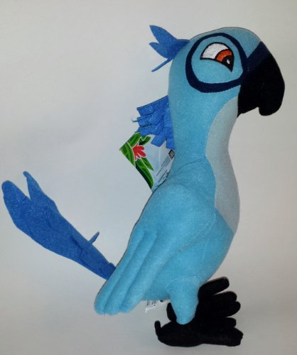 Blu 12 Inch Plush From the Movie Rio 2 (From Jewel Rio 2)