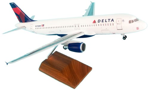 Daron Skymarks Delta 320 New Livery Model Kit (1/100 Scale) by Daron (Image #1)