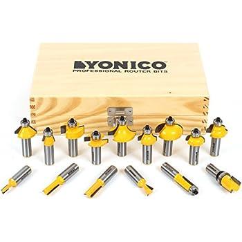 Yonico 17150 Yonico 17150 15 Bit Multi- Profile Router Bit Set 1/2 ...