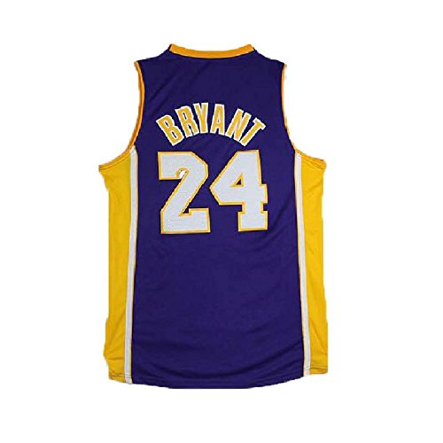 Men's Kobe Jerseys Los Angeles 24 Basketball Jersey (Lakers Kobe Bryant Jersey)