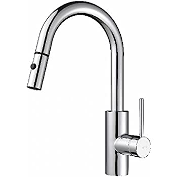 Moen 7565 Align One-Handle High Arc Pulldown Kitchen Faucet, Chrome ...