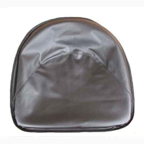 Pan Seat 19'' Deluxe Cushion Vinyl Black Compatible with Ford 4000 2000 4110 International Oliver John Deere 2030 Allis Chalmers Massey Ferguson 50 Minneapolis Moline Massey Harris CockShutt/CO OP
