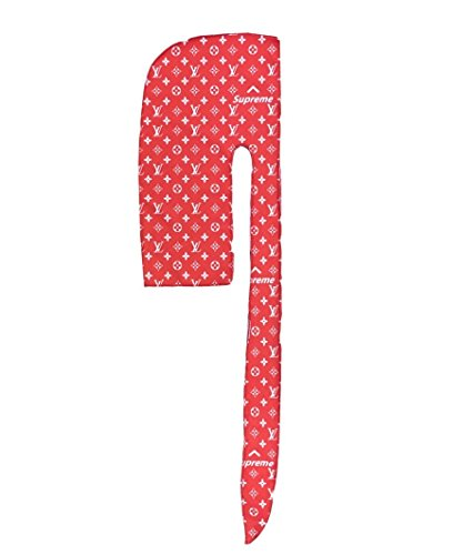 Customs - Designer Durag (Red LV x Preme)