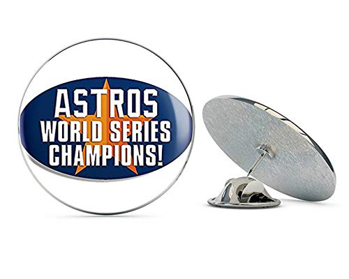 (NYC Jewelers Oval Astros World Series Champions (Houston Star MLB ic) Metal 0.75