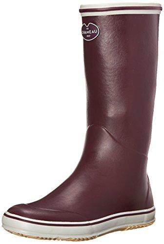 Le Chameau Footwear Women's Brehat Boot, Cherry, 42 EU/10 M US (Boot Cherry Rain Womens)