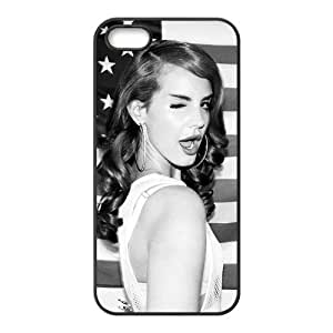 Customiz American Famous Singer Lana Del Rey Back Case for iphone 5 5S JN5S-2478