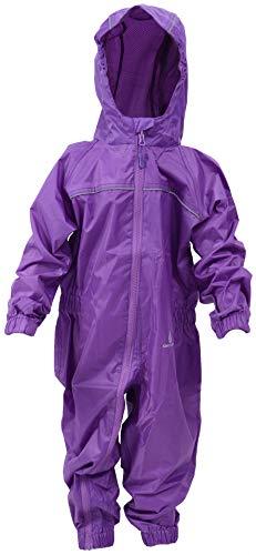 DRY KIDS - Waterproof Rainsuit 1 Yr Purple