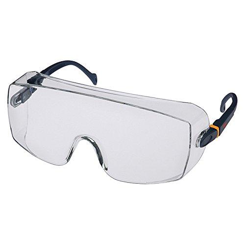 3M Schutzbrille 2800, Ü berbrille, Besucherbrille, AS, UV, PC, klar