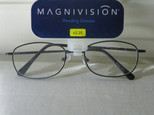 Reading Glasses +2.25 Quality Magnivision Reading Glasses