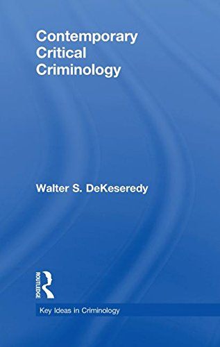 Contemporary Critical Criminology (Key Ideas in Criminology)