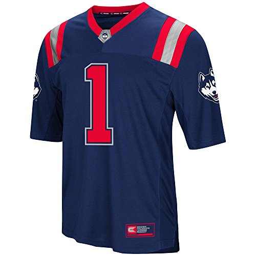 Mens UConn Connecticut Huskies Football Jersey - L ()